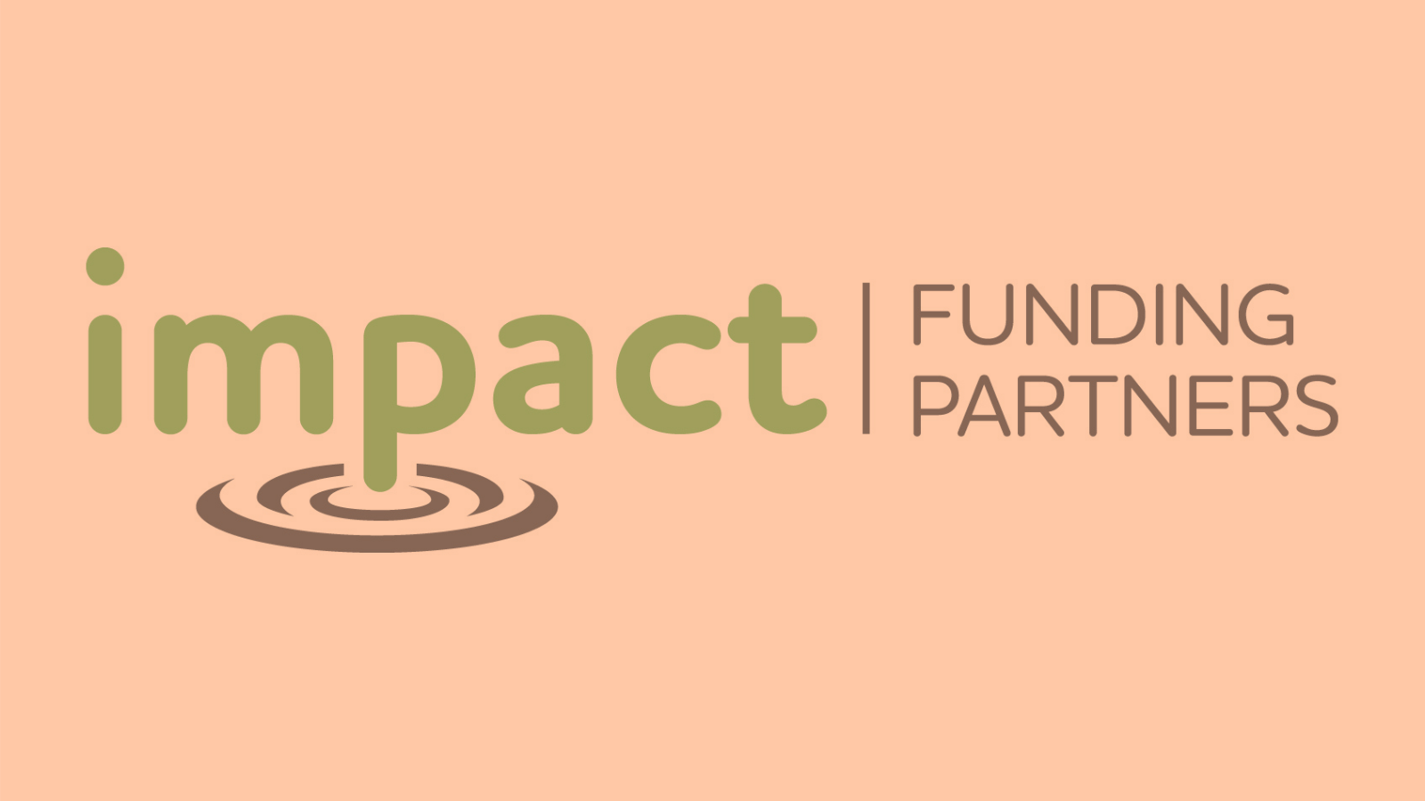 Impact Funding Partners logo with an orange filter over it
